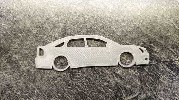 Hediyelik Eşya Opel Vectra C Araba Modelli Anahtarlık  Spor Model