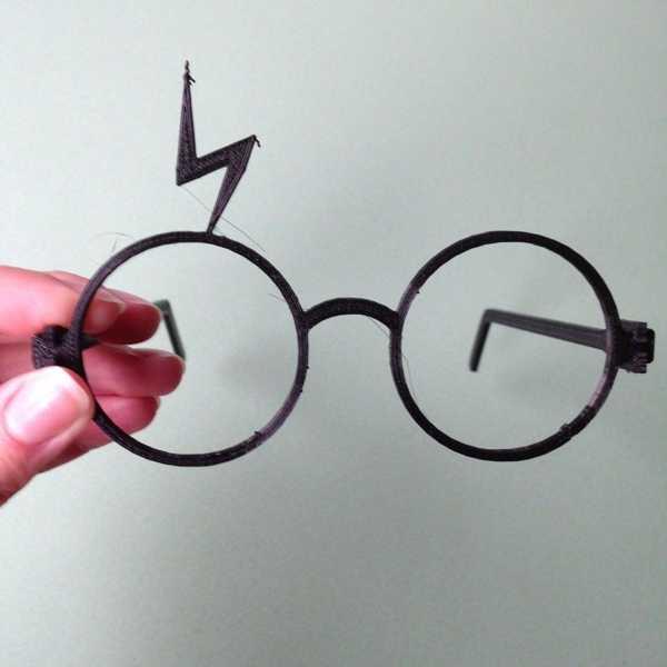 Harry Potter Gözlük Çocuk Oyuncak Oyun Organik Plastikten Biblo