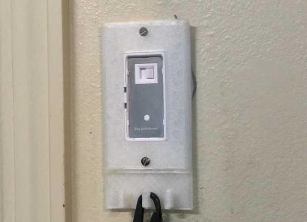 Kancalı duvar plakası kapağı - anahtar Tutucu Dekoratif Aparat