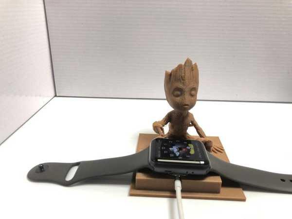 Bebek Groot Apple Watch Tutucu Akıllı Saat Şarj  Aparatı Stant