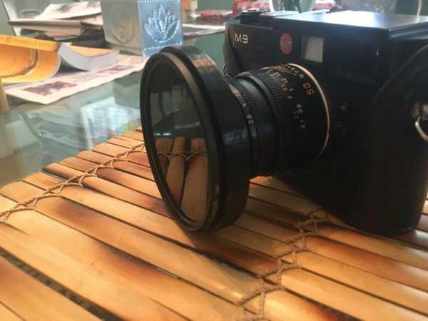 Leica Telemetre Polarize Filtre Tutucu Organik Plastikten
