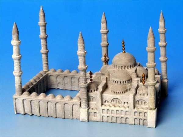 Sultanahmet Camii 1:1000 Dekoratif Biblo Dekor Hediyelik Süs