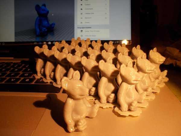 Toptan Mini Teddy 02 Plastik Aparat