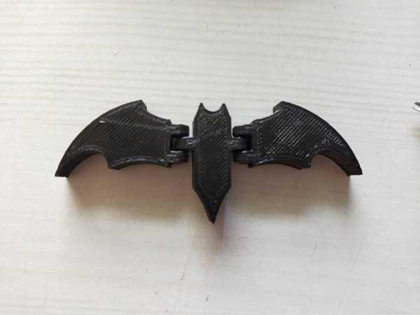 Mafsallı BATMAN sembolüBiblo Dekoratif Hediyelik Süs Eşyası Maket