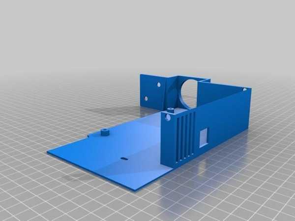 Ender 3 Mks Gen L Kutusu Fan Üzeri̇ndeki̇ Grup Olmadan 20 Mm Fan Plastik Aparat
