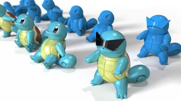 Squirtle Pokemon Biblo Dekoratif Hediyelik Süs Eşyası Maket