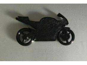 Motosiklet Anahtarlık (Honda Cbr) Dekoratif Aksesuar Süs Eşyası