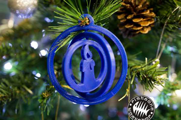 Noel Ağacı gyro süsleme - mum Dekoratif Süs Eşyası Hediyelik