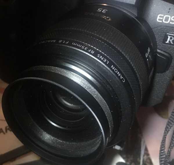 58 mm Lens adaptörü 52 mm'ye  Organik Plastikten Aparat