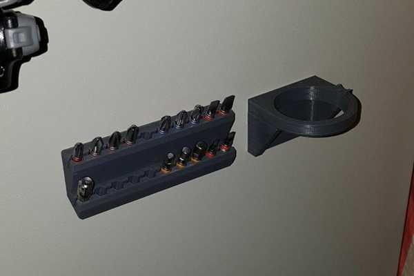 Elektrikli Tornavida Tutucu (Pro Skit Pt-1361G) Plastik Aparat
