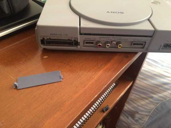 PlayStation 1 -Paralel Bağlantı Noktası G / Ç kaset kapağı