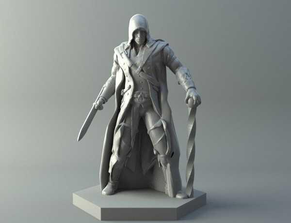 Elf Assassin - D & D Minyatür Biblo Dekoratif Hediyelik Süs Eşya