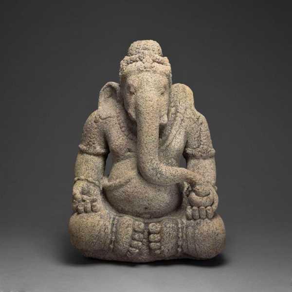 Tanrı Ganesha, Engellerin Sökücü, 9. / 10. Yüzyıl Plastik Aparat