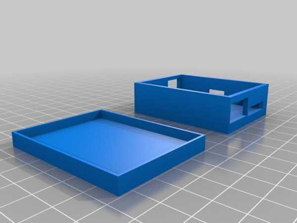 Mp3 Kod Çözücü Muhafazası Plastik Aparat