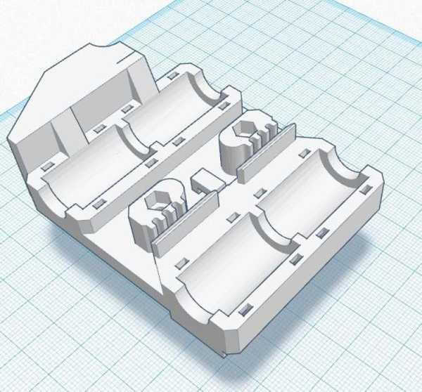 4 Lm8Uu İçin Hephestos Arabası Plastik Aparat