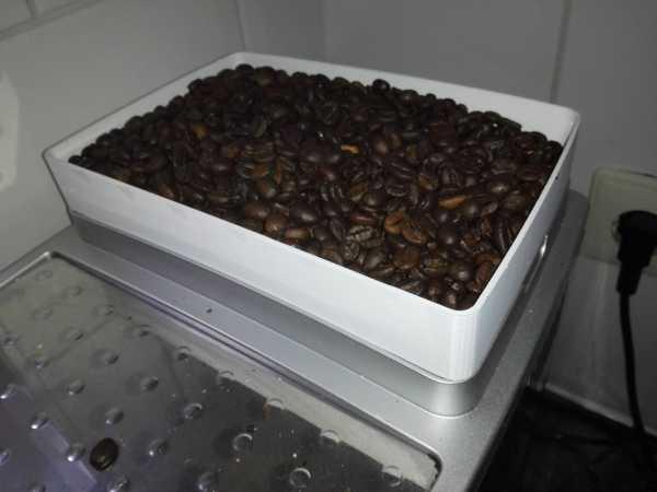 Kahve çekirdeği rezervuar uzantısı  Organik Plastikten Aksesuar