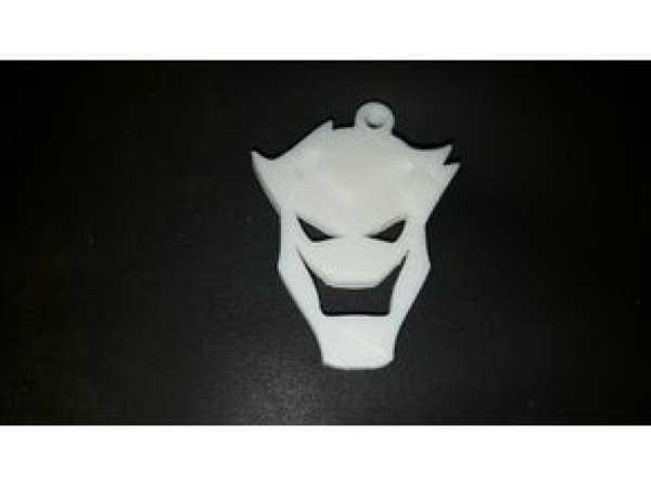 Keychain Joker Minimal  Organik Plastik Aksesuar Aparat Dekoratif