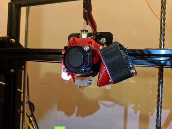 TronXY E3D v6 plus BLTouch plus 40 mm Parça Soğutma Fanı
