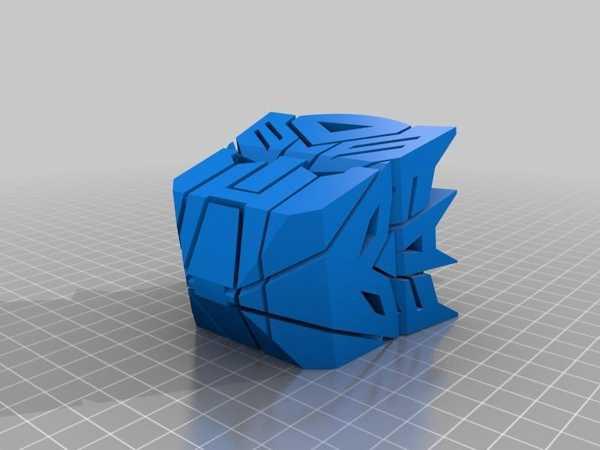 Autobot Vs Decepticon Plastik Aparat