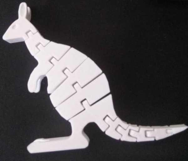 Toptan Kanguru Model Masaüstü Biblo Dekoratif Hediyelik Süs Eşyası Maket