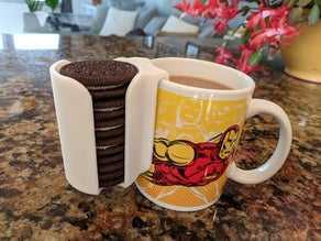 Oreo Cup Kupa  Aparatı Bardağa Takılan Kurabiye Koyma  Aparat