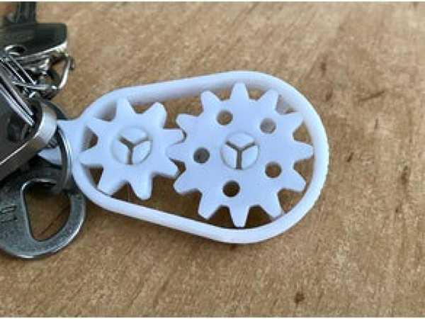 Anahtarlık Dişli Çarklı Hediyelik Süs Eşyası Dekoratif