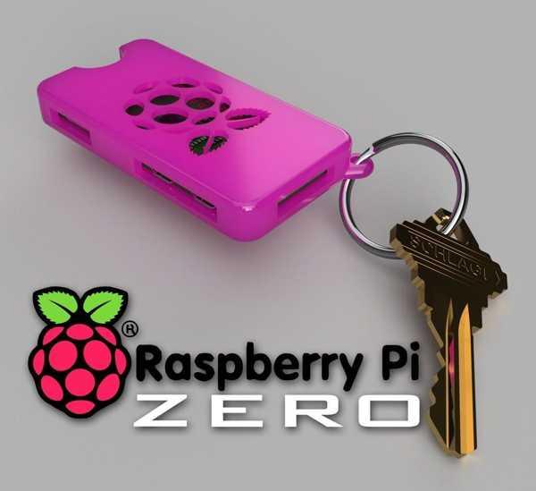 Raspberry Pi Zero ve W Uyumlu Anahtarlık Kılıfı Kutusu Kılıf Kutu