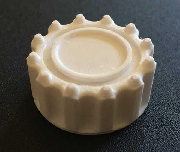 Monoprice Select Mini Döndürme Düğmesi MP  Organik Plastikten