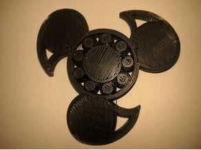 Tamamen 3d Baskılı Fidget Spinner Hediyelik Tutucu Aksesuar Biblo