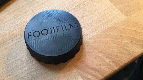 FujiFilm X-Mount Arka Lens Kapağı Tutucu Aparat Askı Stand Dekor