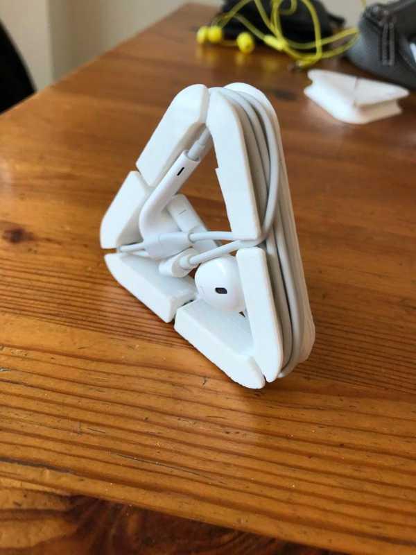 Kulak Telefonu Kulaklık Düzenleyici Çanta İçi Organizeri