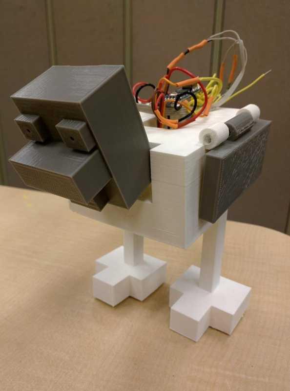 Robot Tavuk Plastik Aparat