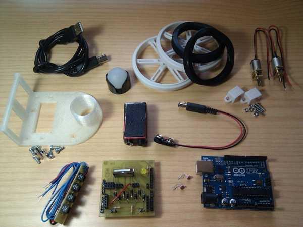 Arduino tabanlı printbot HKTR-9000 Organik Plastikten Aparat
