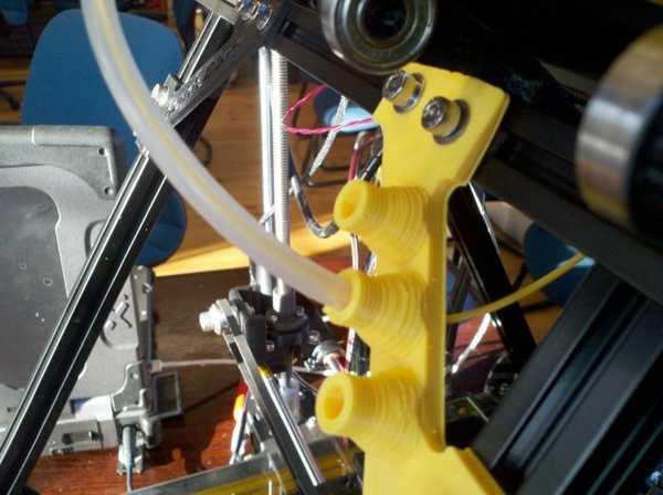 Mendelmax Vertex filament beslemesi  Organik Plastikten Aksesuar