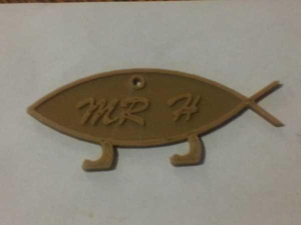Bay H Darwin Balık Plastik Aparat