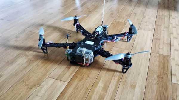 Quadcopter Uzatma Plakası / Tbs Keşif Plastik Aparat