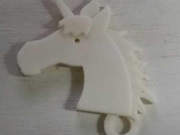 Hediyelik Eşya Unicorn Anahtarlık At Hayvan Figürlü Plastik