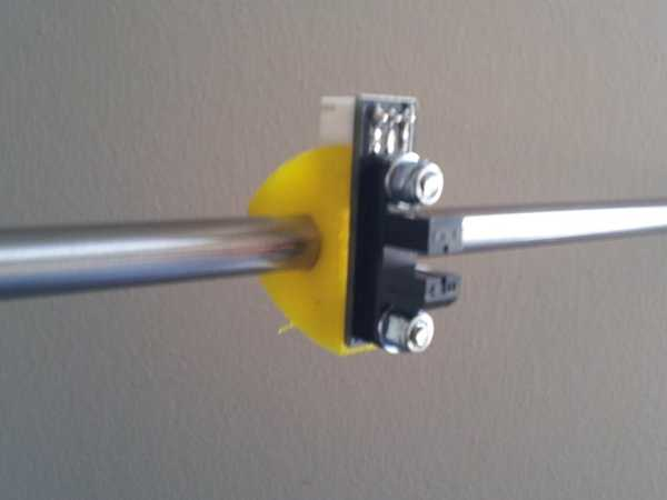 8 mm miller için opto uçlu montaj  Organik Plastikten Aparat