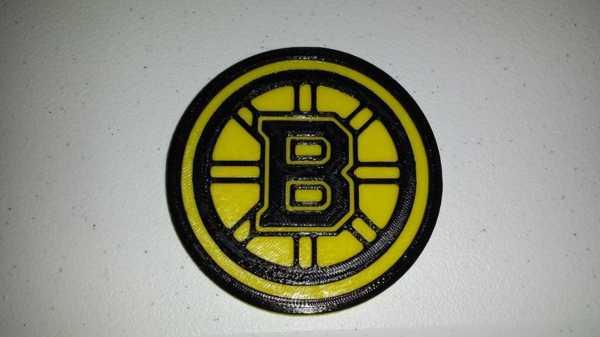 Boston Bruins Coaster Plastik Aparat