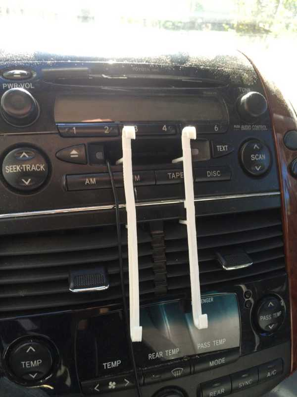 Toyota Sienna Minivan için iPhone6 Dağı (2005) Organik Plastik