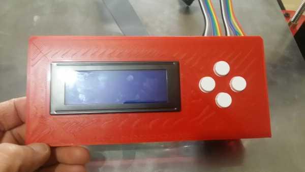 LCD destekli elektronik kit 3d kontrolör Organizer Tutucu
