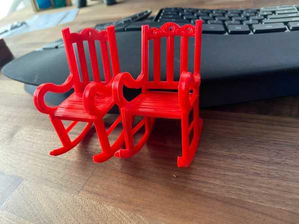 Oyuncak sallanan sandalye Dekoratif Biblo Dekor  Hediyelik Süs