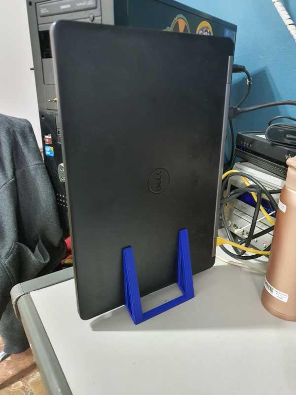 Dikey Dizüstü Bilgisayar Tutacağı - Kendinden Ayarlı Tutucu Askı