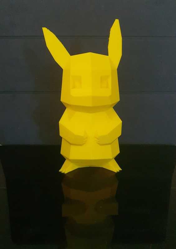 Daha Güçlü Pikachu  Dekoratif Aksesuar Süs Eşyası Oyuncak