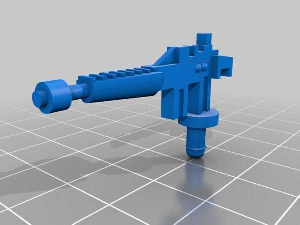 Kenner Scout Canon Remix Plastik Aparat