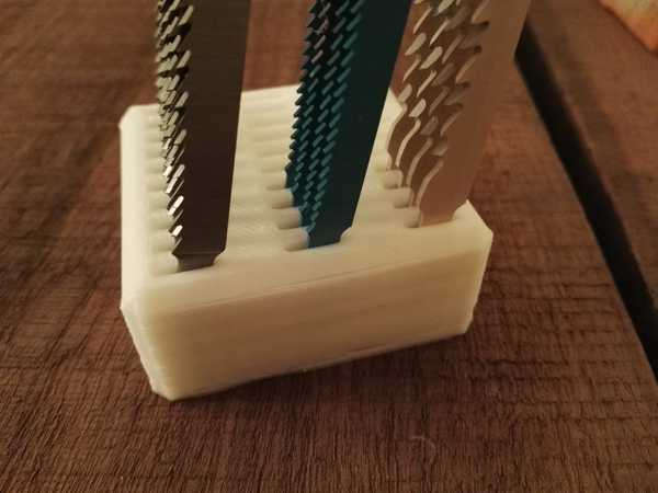 Yapboz bıçağı tutucu Organik Plastikten Aksesuar Organizer