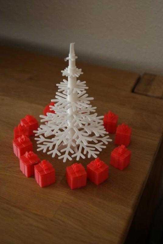 Noel Ağacı İçin Mini Hediyeler Plastik Aparat