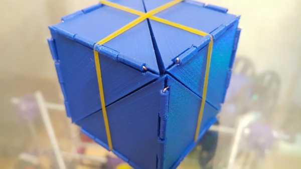 Geo Cube / Cube Trafo / Ücretsiz Çoğaltma Plastik Aparat