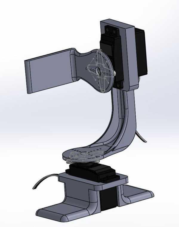 Pan-Tilt Kamera Tutucu Plastik Aparat
