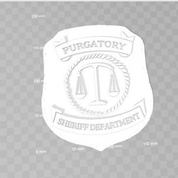 Wynonna Earp Purgatory Polis Rozeti Plastik Aparat